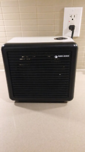 electric heater and fan