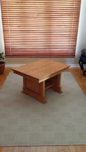 Table de coin en vrai bois