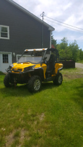 2011 can am commander xt