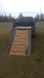 For sale sled deck