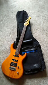 Electric guitar set with amp, stand and case for sale Stratford Kitchener Area image 1