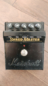 Marshall Shred Master guitar distortion pedal effect