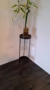 Plant Stand/Hurricane Candle Holder