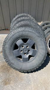 Toyota Tundra rims and tires