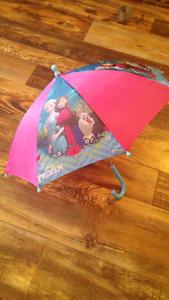 Girls frozen umbrella $10