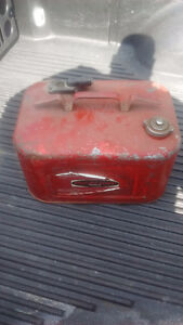 Old Mercury boat gas can