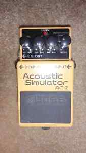 Boss AC-2 Acoustic Simulator $80 OBO