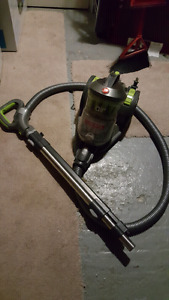 Hoover air bagless canister vacuum