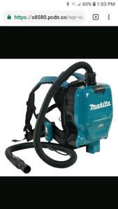 Makita backpack vacuum DVC260ZX