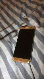 Samsung s7 edge gold