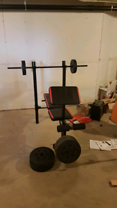 Exercise Equipment - Bow Flex & Weight Bench