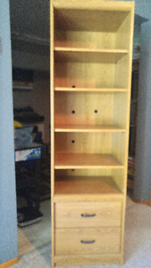 "SHELF UNIT 72"" h x 20.5""w x 16""d"