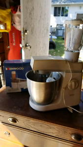 Kenwood mixer, blender and food processor