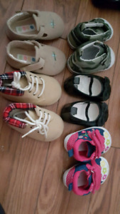Girls shoes 0 to 3 months