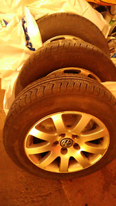 Pneus ETE avec Mags 195/65R15 pour Volkswagen