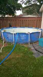 GONE PPU - 12 ft steel frame pool