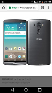 i am selling my black lg g3 d855 for $100
