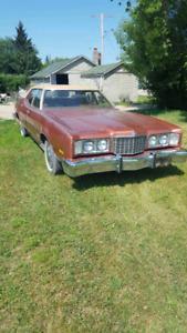 1974 Mercury Montego only 66 thousand miles