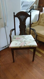 Lovely carved detail single arm chair