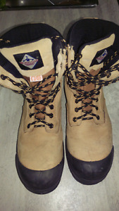 Workload Steel toe boots (size 10)