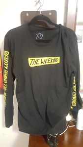 THE WEEKND LONG SLEAVE TOP(M) NEVER WORN