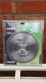 Trend 250mm saw blade