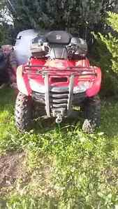 For Sale a 2009 Honda 420cc 4x4 Quad