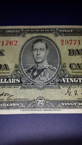 WANTED...I AM LOOKINGTO BUY LARGE BANKNOTE COLLECTIONS Cambridge Kitchener Area image 1