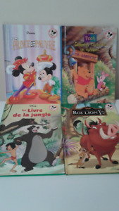 4 - French books - Disney Series
