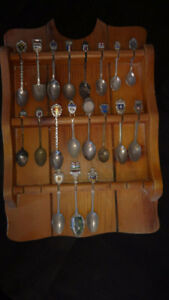 Spoons and Display Rack