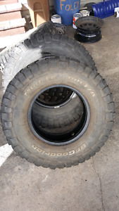 BF Goodrich Mud Terrain tires 285 75 16