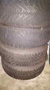 Goodyear Nordic 215.70.15 and rims