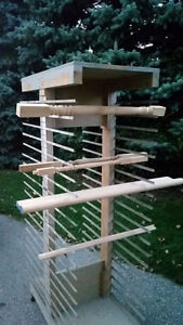 Wood Working Carpentry Painting Parts Rack