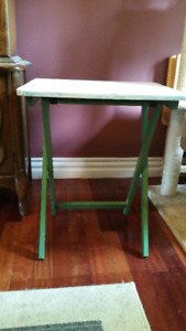 Antique TV Tray Stand
