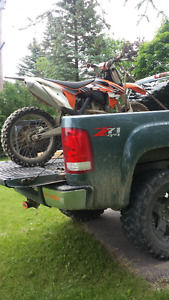 2012 ktm 350sx trade for 600 street bike or motor cycle