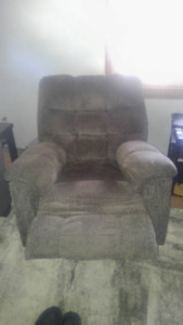 Recliners and love seat