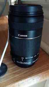 Canon efs lens for sale 55 to 250mm