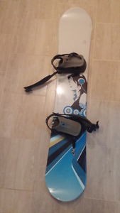 Planche femme fille snowboard