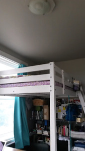 Double/Full loft bed frame [Ikea Stora model]