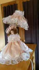 Collectable Porcelain Doll Lamp Windsor Region Ontario image 3