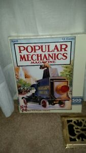 500 piece Puzzle - Popular Mechanics