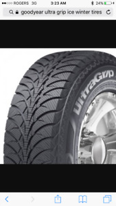 Good Year Ultra Grip Ice Winter Tires (set of 4)