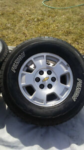 Firestone Truck tires and rims