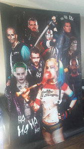 movie theater Suicide Squad poster