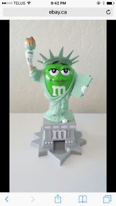 M&M Statue of Liberty candy dispenser