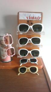 Lunettes vintage sunglasses Rockabillys pinup (prix reduit)