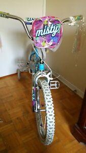 "Girl's Bike 18"" with training wheels"