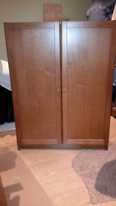 Bookcase Storage Cabinet with doors - have 2 units