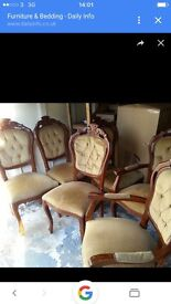 Six chairs France stile £100