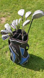 Ram mixuno and dunlop golf set